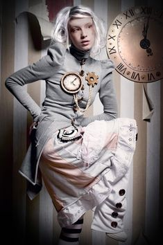 A curated collection of steampunk and dieselpunk fashion to bring out your unique style. Victorian Costume, Victorian Steampunk, Victorian Fashion, Steampunk Clock, Gothic Fashion, Steampunk Fashion Women, Steampunk Clothing, Womens Fashion, Steampunk Cosplay