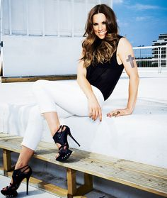 Melanie C - Sporty Spice, love this lady, so talented.
