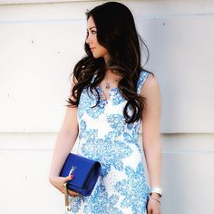 Starflower Scalloped Dress #Anthropologie #MyAnthroPhoto