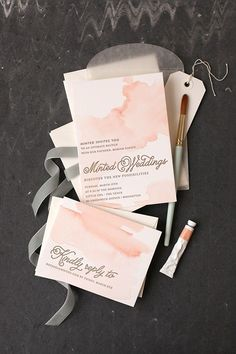 Wedding Ideas -- Blush shades are certainly hot this season, and we don't see them going anywhere any time soon. It's just so perfect that Ines Di Santo featured the color on the runway this year making a huge splash. There are several reasons why blush is one of the hottest colors for weddings. It's the perfect neutral that pairs perfectly with almost any other color, and it has a soft femininity that evokes the spirit of romance. Want to see more of our favorite blush wedding ideas? Scroll…