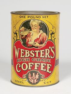 Webster's High Grade Coffee