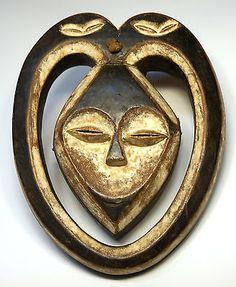 Kwele (Kwese) Ekuk (forest spirit) Mask - Gabon Africa