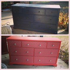 diy furniture restoration ideas. DIY Mod Podge Dresser With Wrapping Paper Diy Furniture Restoration Ideas