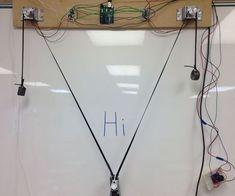 SIMPLEST Arduino Vertical Plotter