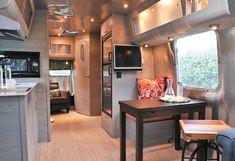 Airstream Camper Interior Modern Style