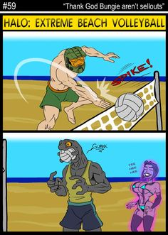 Another Halo Comic Strip Destiny Comic, Destiny Game, Gamer Humor, Gaming Memes, Sci Fi Comics, Funny Comics, Video Game Quotes, Video Games, Halo Funny