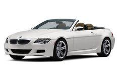 bmw m6 convertible - alpine white w/tan leather  $108k