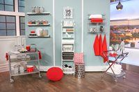 Interior design expert, Jane Lockhart, shows you how to spruce up your open concept shelving.