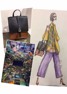 Design #31 of my 30 Days of November Designing with Meli Melo bags as a base of inspiration