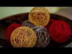 How To Create Pretty Twine - DIY Covered Wine Bottles Tutorial - Home - YouTube