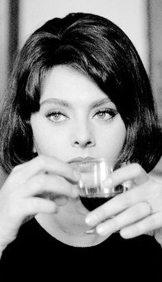 Sophia Loren fotografiada por Elliott Erwitt, 1962