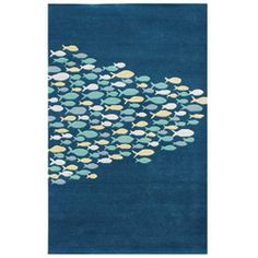 @Overstock - Primary materials: Wool, viscose Pile height: 0.5 inches Style: Contemporary http://www.overstock.com/Home-Garden/Hand-tufted-Blue-Wool-Rug-8-x-11/6277510/product.html?CID=214117 $659.99