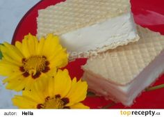 Zmrzlina ze Salka recept - TopRecepty.cz Vanilla Cake, Goodies, Frozen, Food And Drink, Ice Cream, Yummy Food, Cheese, Sweet, Recipes