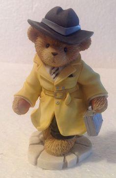 Cherished Teddies T. James Bear 2001 Membership Figurine