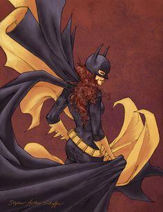 illustrazioni fantastiche   Fantastic Batgirl Illustrations   Abduzeedo