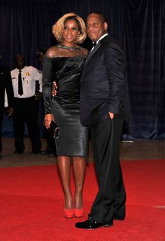 Mary J. Blige and Her Husband Kendu Isaacs