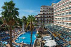 Hotel Indalo park in Santa Susana, Cataluña