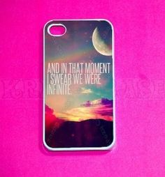 Amazon.com: Infinity Quote, infinity iPhone 4 Case - For iPhone 4 and iPhone 4S: Cell Phones & Accessories