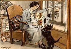 Cornelis Jetses Art And Illustration, Illustrations And Posters, Vintage Illustrations, Vintage Children's Books, Vintage Cards, White Whale, Cornelius, Dutch Artists, Cartoon Pics