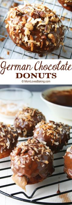 Have you ever made homemade donuts? GERMAN CHOCOLATE DONUTS are a twist on the famous cake & also easy to make. Not to mention, my winning recipe in the Pillsbury Bake-Off!