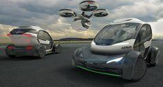 Italdesign & Airbus Debut Flying Pop.Up Car Concept In Geneva [w/Video]