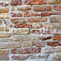 Mixed Bricks Wallpaper