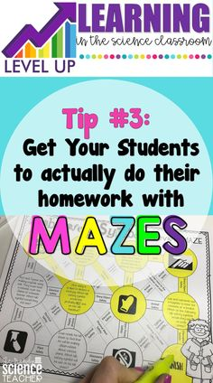 Get your students to do their homework! Want to know the secret? MAZES! Mazes are an engaging way to level up your classroom and can provide review and reinforcement in a fun way. Mazes are great for elementary, middle and high school students. Want to grab my FREE maze template? Click the picture to get your FREEBIE!