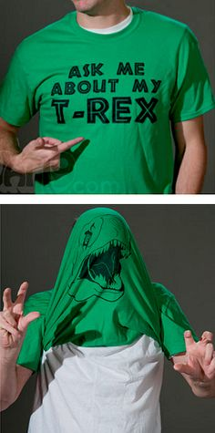 T-REX FUNNY QUOTE T-SHIRT - Ask Me About My T-Rex easy diy halloween costume idea. Dinosaur birthday party outfit idea,  Godzilla also needs a fun night out with friends. Geek humor, funny quotes college humor, tyrannosaurus rex art, t-rex drawing, prehistoric animals art, lizard, paleontologist costume, paleontology for kids. Affiliate Link.