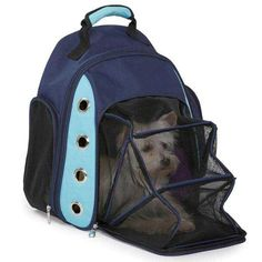 Ultimate Backpack Fold Out Mesh Tent Dog Cat Pet Soft Sided Carrier Travel Bag