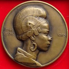 France - Exhibition medal Kassonké/French Sudan 1931 - Emile Monier - Catawiki
