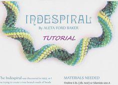 Bead Tutorial Spiral Peyote Indespiral the di AletaFordBakerDesign
