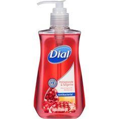 Dial Pomegranate & Tangerine Antibacterial Liquid Hand Soap 221 ML Benzalkonium Chloride, Liquid Hand Soap, Fragrance Parfum, Active Ingredient, Pomegranate, Bath And Body, Moisturizer, Conditioner
