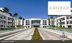 Conrad Algarve in Almancil, Faro Hotel Portugal, Visit Portugal, Algarve, Stunning View, Mansions, Luxury, House Styles, Travel Tourism, Viajes
