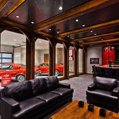 MAN CAVE - DREAM GARAGE  LOL GIRL CAVE for ME!!!