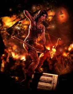 tomb raider  fan art | Tomb Raider - Unofficial Wallpaper by ~TombRaider-Survivor on ...