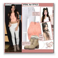 """Steal her style: Camila Cabello"" by aminkicakloko ❤ liked on Polyvore featuring women's clothing, women's fashion, women, female, woman, misses and juniors"