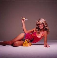 Farrah Fawcett 1977 Color Negatives Los Angeles Magazine Photoshoot...