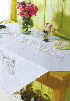 Dantel Mutfak Takımı Masa Örtüsü Modelleri Dantel mutfak masa örtüsü modeli.Bu örnegin baslangici tam orta kismindan baslaniyor daha sonra uçlara dogru örülüyor .Alttaki resimlerden bakarak modeli çikarabilirsiniz daha sonra peçetesinide yayinlayacagim.