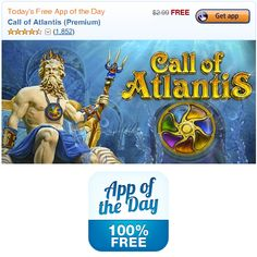 Today Only - Free Call of Atlantis App for Android http://www.mybargainbuddy.com/call-of-atlantis-app-free