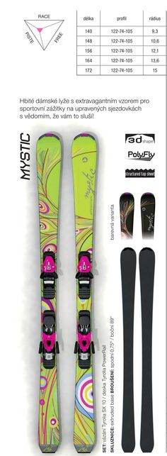 Women design - Sporten Mystic skis 2015/16 collection Mystic, Skiing, Sports, Collection, Design, Women, Ski, Hs Sports, Sport