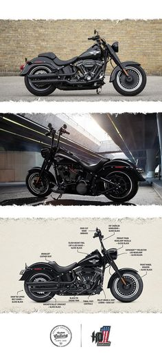 Raw custom attitude with the most powerful engine you can get in a cruiser this year. | 2016 Harley-Davidson Fat Boy S