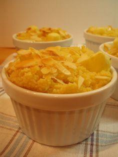 waniliowy pudding z kuskusu