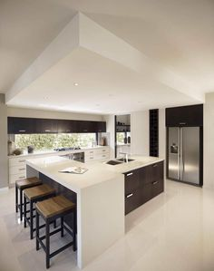 interior design for kitchen - ontemporary kitchens, Luxury kitchens and Kitchen ideas on Pinterest