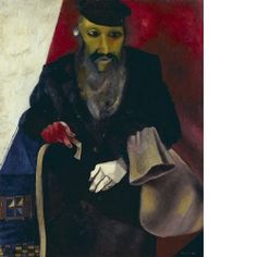 Marc Chagall Der Jude in Rot Basel