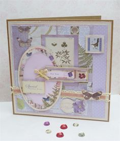 Make this birthday card with a nature theme! Follow our tutorial for a beautiful handmade card.