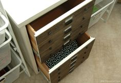 Trash to Treasure File Cabinet Take Two {Monthly DIY Challenge}