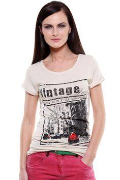 Fashion My Day : Vintage Print Ladies Top
