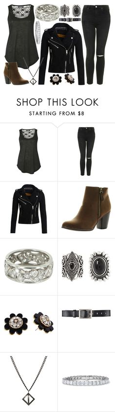 """""""Untitled #1204"""" by believe-dream-inspire ❤ liked on Polyvore featuring Pilot, Topshop, Superdry, Reneeze, Vintage, New Look, Kate Spade, Belstaff and Degs & Sal"""