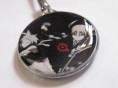 Soul Eater Maka, Black Star, and Death The Kid Phone Strap *FREE SHIPPING*