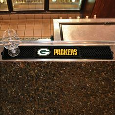 Green Bay Packers Bar Mat